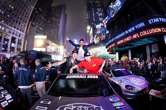 gumball3 at 2013 Gumball 3000 Rally – 15th Anniversary