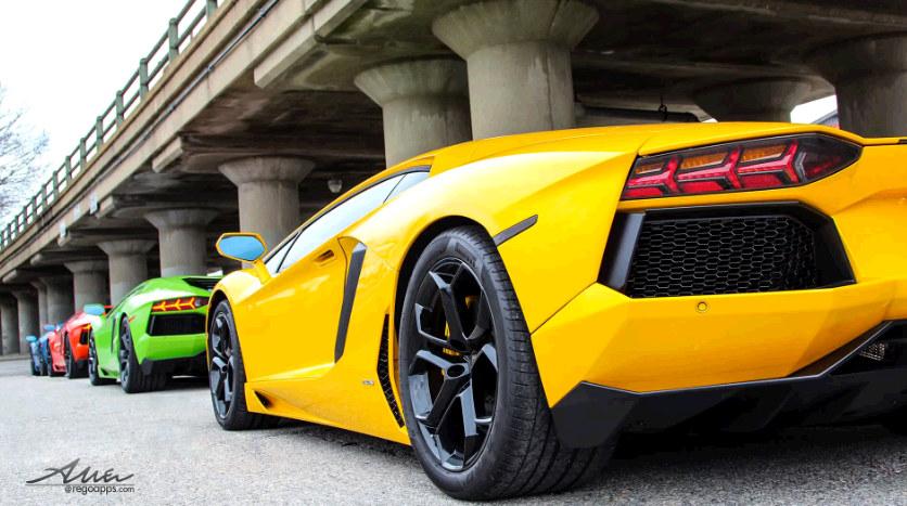 A Compilation Of Epic Lamborghini Aventador Adventures