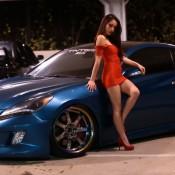 tia morales genesis coupe 4 175x175 at Tia Morales & Hyundai Genesis Coupe   Video and Gallery