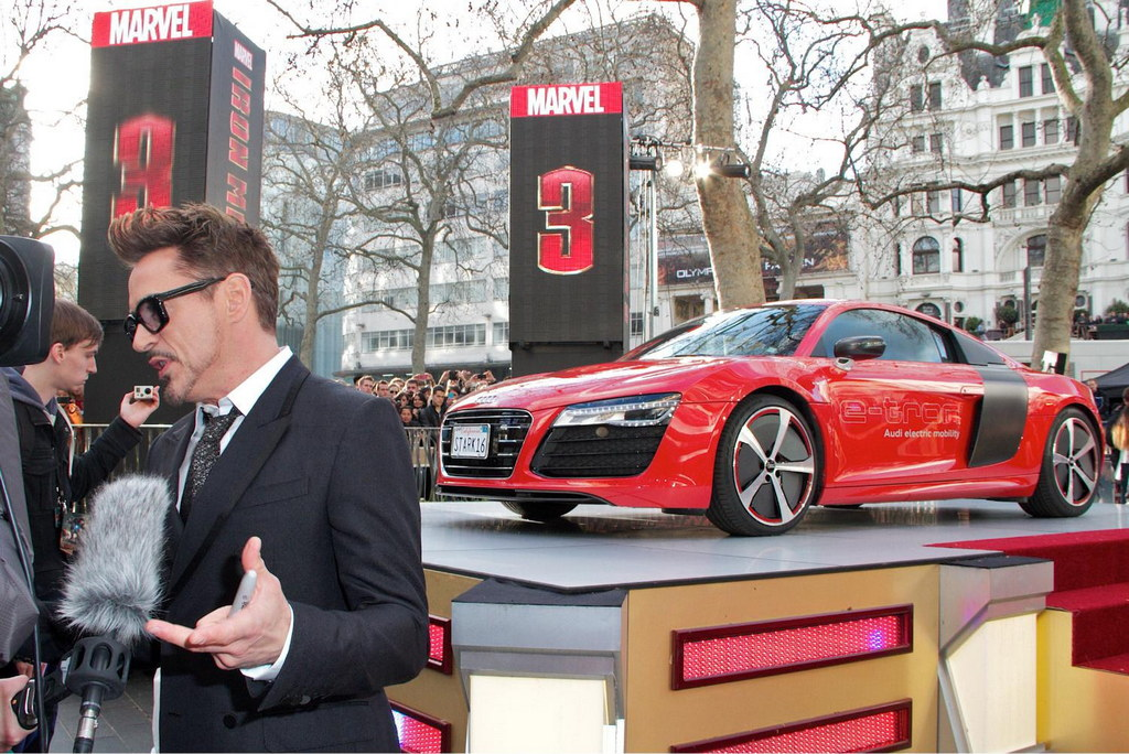 Lincoln Motor Company >> Audi R8 e-tron at Iron Man 3 Screening in London