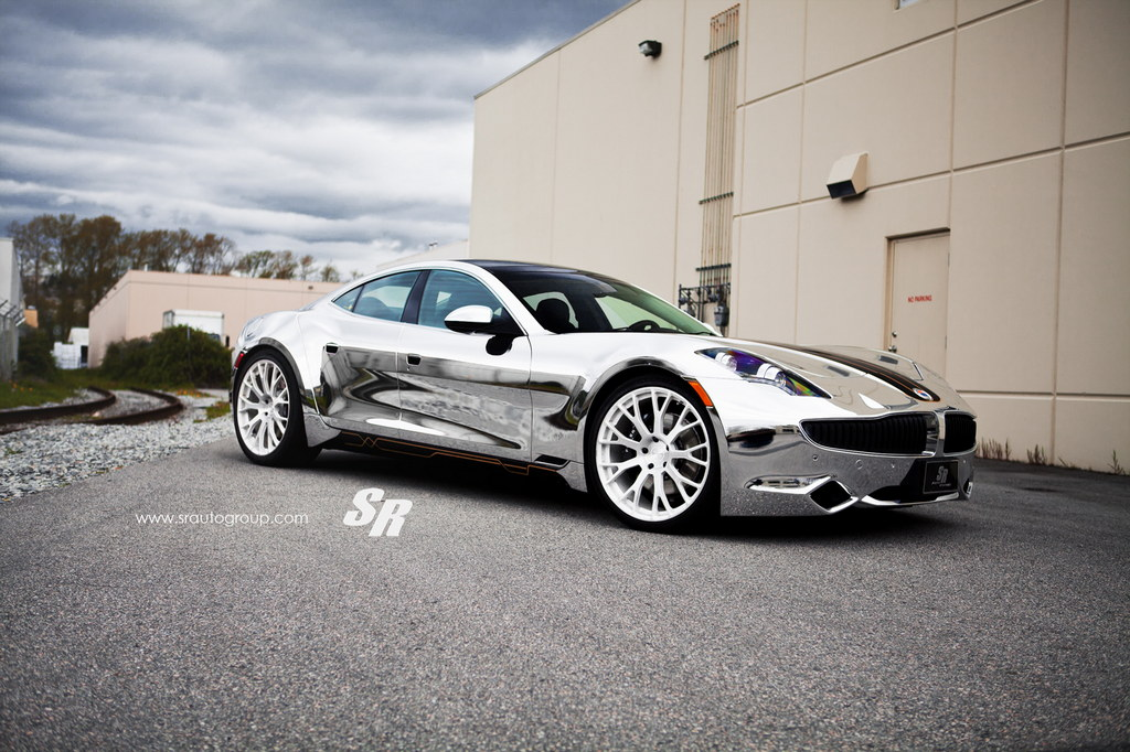 Chrome Fisker Karma by SR Auto 1 at Chrome Fisker Karma by SR Auto