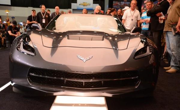 Corvette Stingray Convertible auction 1 600x367 at First Corvette Stingray Convertible Sells for $1 Million