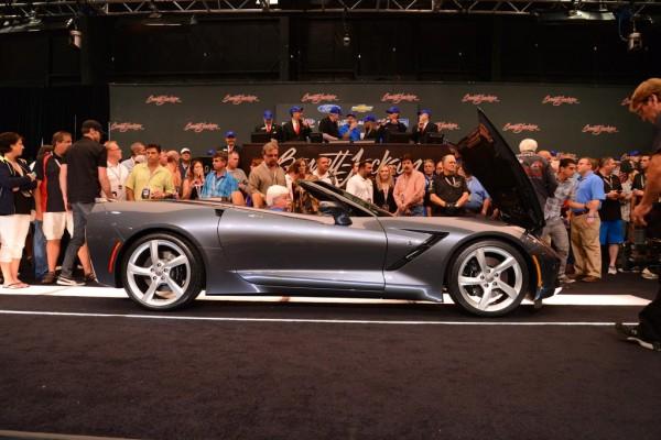 Corvette Stingray Convertible auction 2 600x400 at First Corvette Stingray Convertible Sells for $1 Million