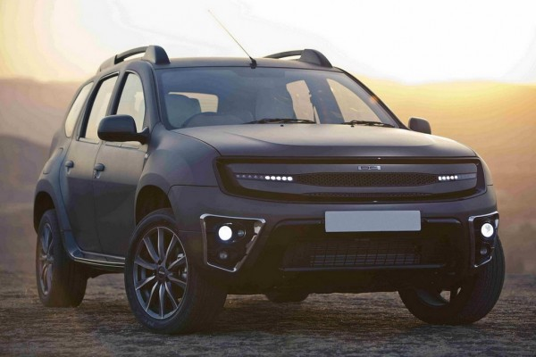 DC Design Duster 1 600x400 at DC Design Makeover Pakcage for Dacia Duster Revealed