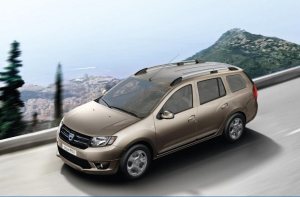 Dacia Logan MCV 1 600x394 at Dacia Logan MCV Priced from £6,995 in the UK