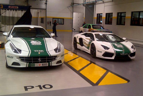 Dubai Police new rides 1 600x402 at Dubai Police Now Adding Mercedes SLS and Bentley GT to its Fleet