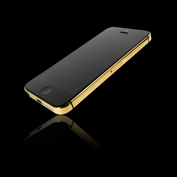 Gold iPhone 5 64GB 2 600x600 at Gold iPhone 5 by Mansory Unveiled at BaselWorld