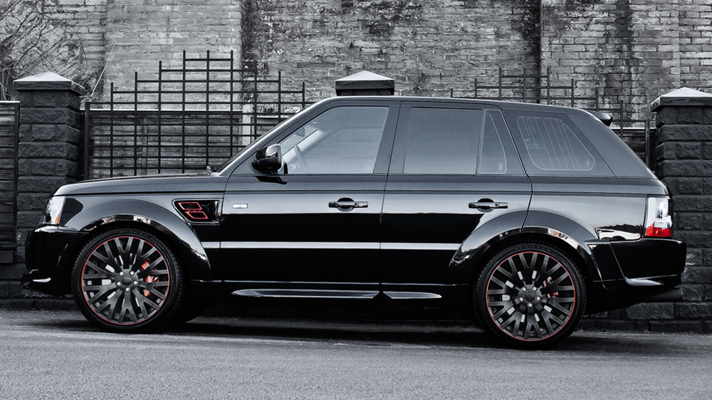 Kahn Design Range Rover Sport Rs600 In Santorini Black