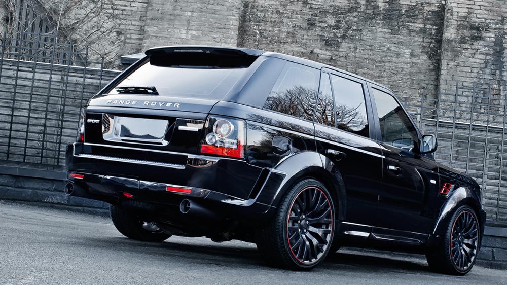 Kahn Design Range Rover Sport Rs600 In Santorini Black