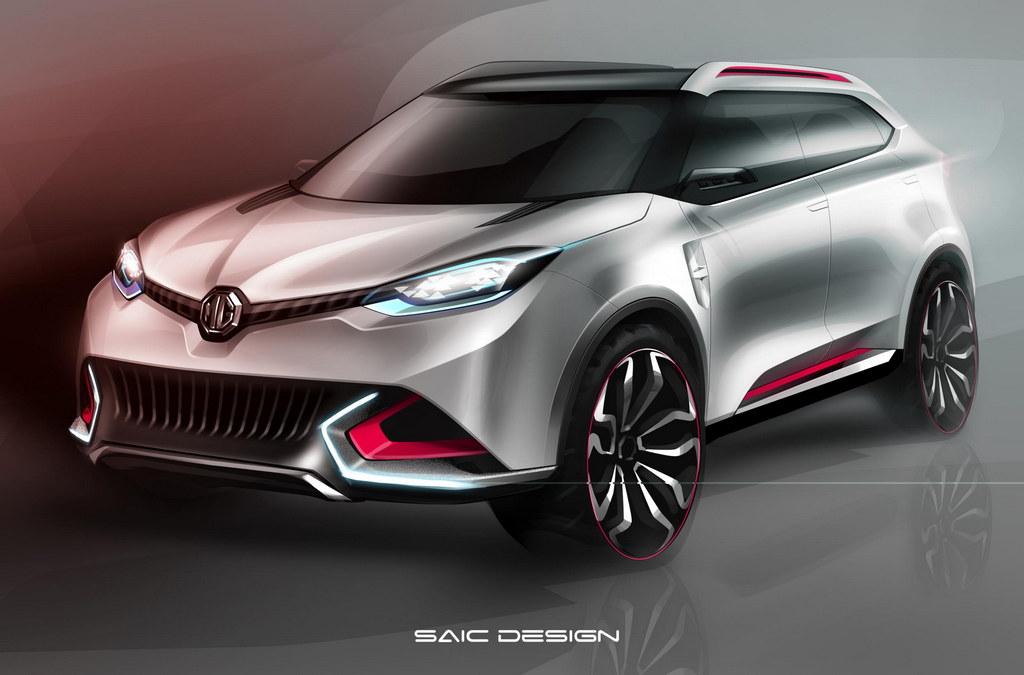 MG CS concept 1 at MG CS Concept Announced for Shanghai