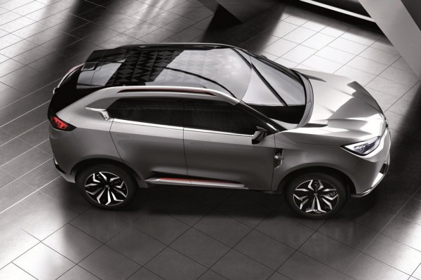 MG CS concept 11 600x399 at MG CS Concept Revealed Further Ahead of Shanghai Debut