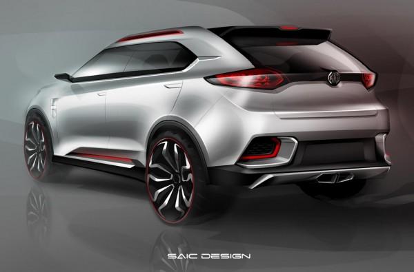 MG CS concept 2 600x395 at MG CS Concept Announced for Shanghai