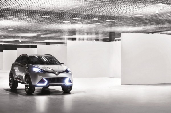 MG CS concept 3 600x399 at MG CS Concept Revealed Further Ahead of Shanghai Debut