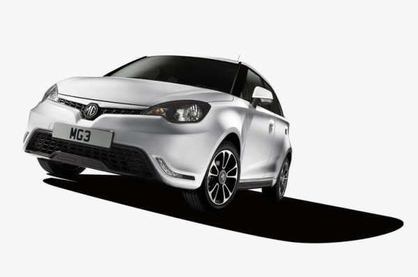 MG3 supermini 1 600x398 at Official: 2014 MG3 Unveiled in China