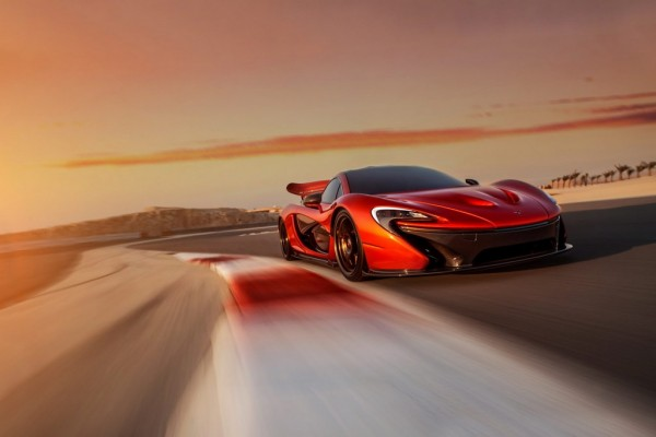 McLaren P1 Bahrain 8 600x400 at Gallery: McLaren P1 Launches in the Middle East