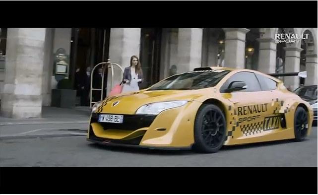 Taxi Tour Of Paris In Renault Megane Trophy Race Car Video