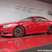SL63 AMG on Forgiato Wheels 2 175x175 at Gallery: Mercedes SL63 AMG on Forgiato Wheels