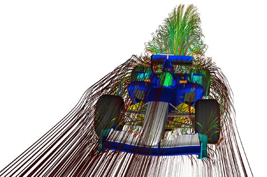 f1 aerodynamics 1 at Aerodynamics And Why F1 Teams Use Wind Tunnels