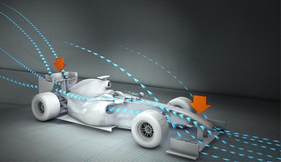 f1 aerodynamics 3 at Aerodynamics And Why F1 Teams Use Wind Tunnels