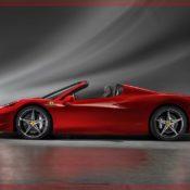 ferrari 458 spider 2012 side 175x175 at Ferrari History & Photo Gallery