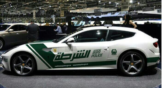 ferrari ff police 1 at After the Aventador Dubai Police Now Gets a Ferrari FF