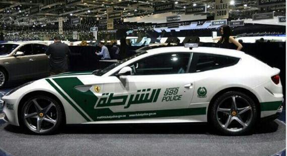 ferrari ff police 1 at After the Aventador Dubai Police Now Gets a Ferrari FF
