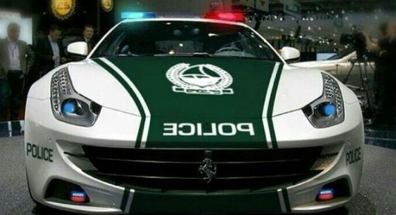 ferrari ff police 2 at After the Aventador Dubai Police Now Gets a Ferrari FF