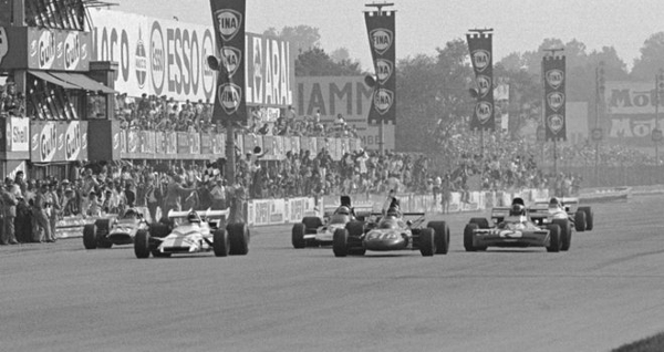 1971 italy at Tightest Race Finishes in F1 History
