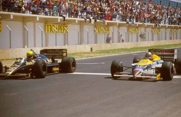 1986 spain at Tightest Race Finishes in F1 History
