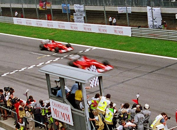 2002 Austria at Tightest Race Finishes in F1 History