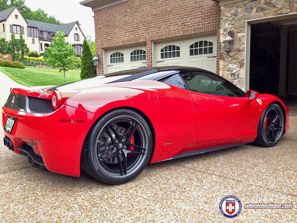 Sweet Looking Ferrari 458 On Hre Wheels Gallery