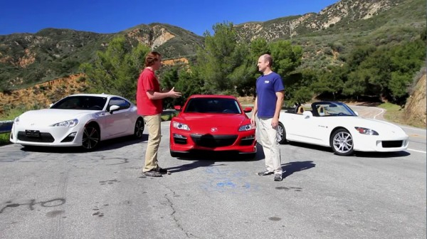 FR s vs S2000 vs RX8 600x336 at Comparison Test: Scion FR S vs Mazda RX8 vs Honda S2000