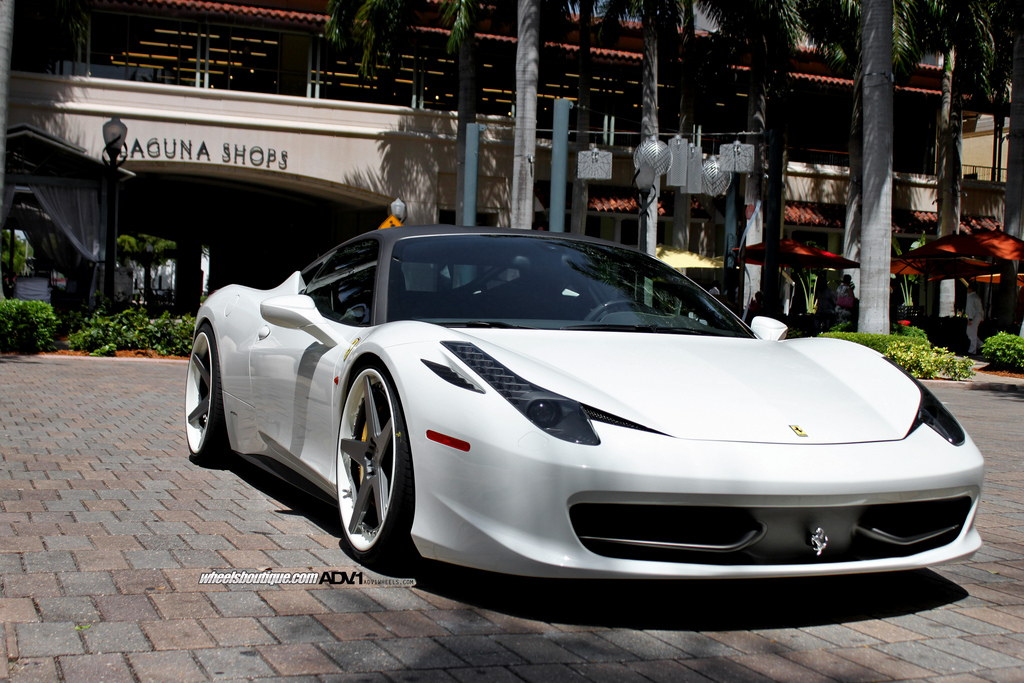 Tricked Out Ferrari 458 Italia By Wheels Boutique Gallery