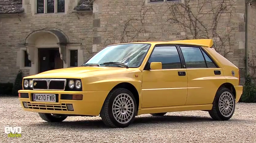 Lancia Delta Integrale Evo II at Harry Metcalfe Shows Off His Lancia Delta Integrale Evo II