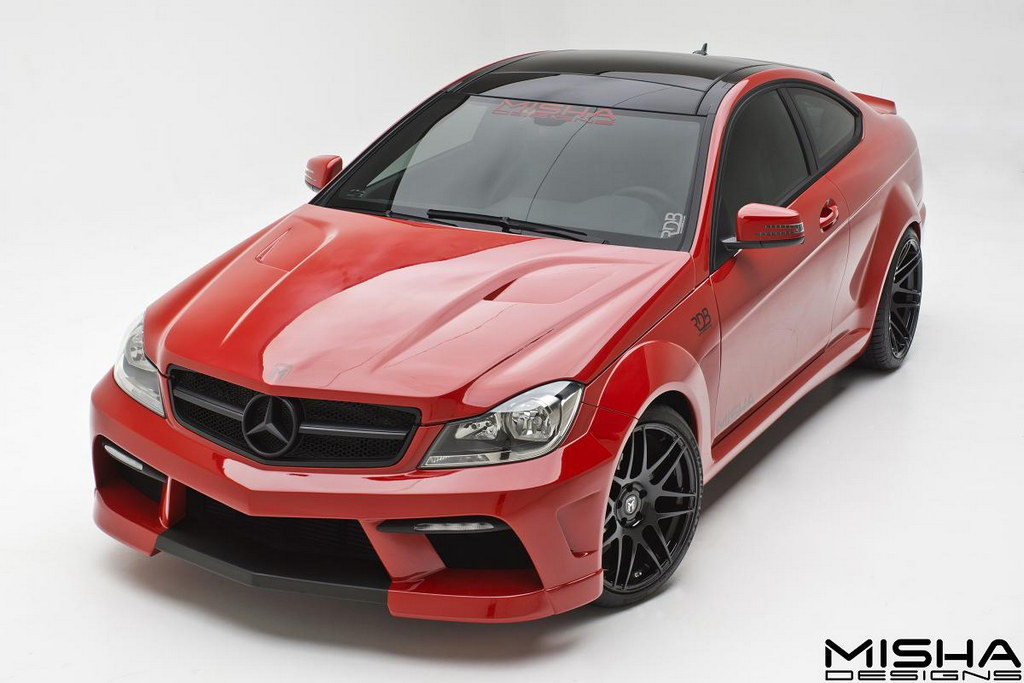 Galatea Automobiles Hyundai Coupe Kit Car Bodykit: Mercedes C-Class Wide Body By Misha Designs