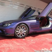 Mercedes SLR by Office K 1 175x175 at Purple Wrapped Mercedes SLR by Office K   Gallery