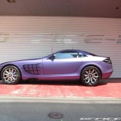 Mercedes SLR by Office K 3 175x175 at Purple Wrapped Mercedes SLR by Office K   Gallery