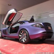 Mercedes SLR by Office K 6 175x175 at Purple Wrapped Mercedes SLR by Office K   Gallery