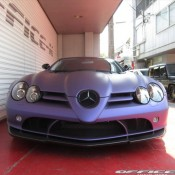 Mercedes SLR by Office K 7 175x175 at Purple Wrapped Mercedes SLR by Office K   Gallery
