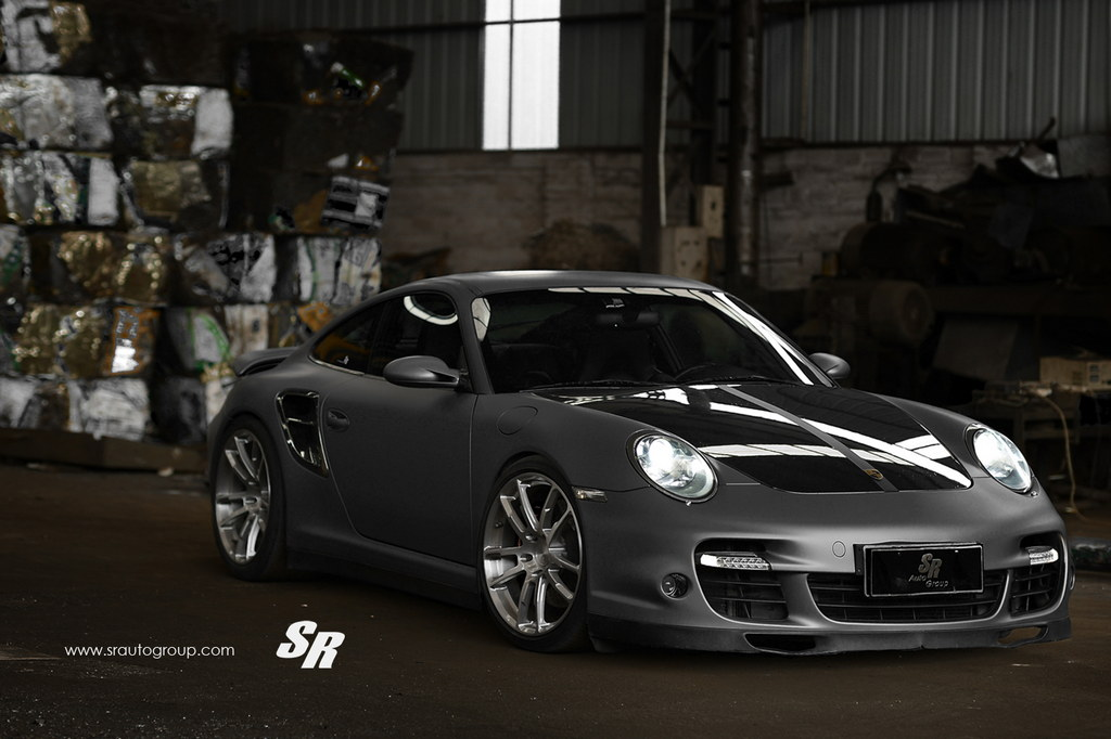 Tricked-Out Porsche 997 Turbo On PUR Wheels By SR Auto