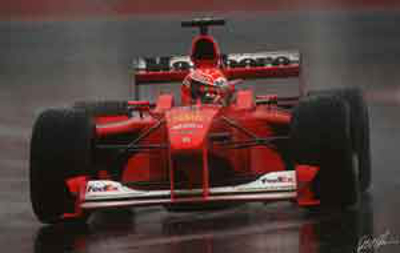 Schumacher 2000 Canada at Tightest Race Finishes in F1 History
