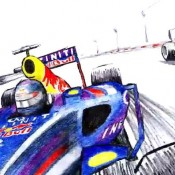 Vettel and Coulthard at Sochi 2 175x175 at Vettel and Coulthard Lap the Unfinished Sochi Circuit