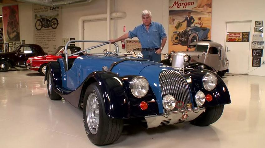 custom morgan at Custom Built Morgan Plus 8 at Jay Lenos Garage   Video