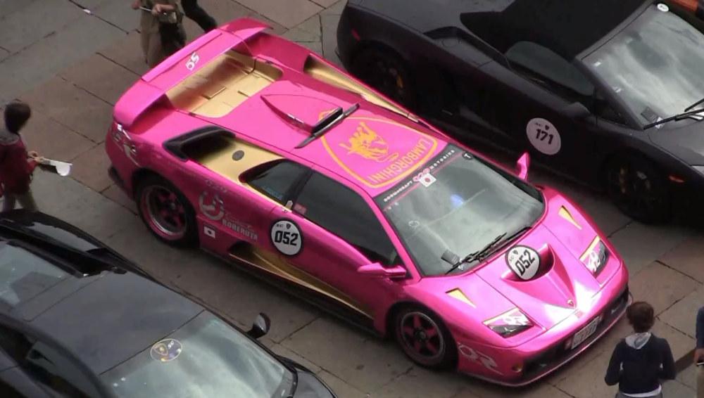 Unique Lamborghini Diablo Gt At Grande Giro Video