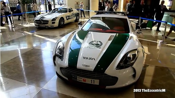 dubai police extravaganza 600x336 at The Exotic Cars of Dubai Police Caught on Video