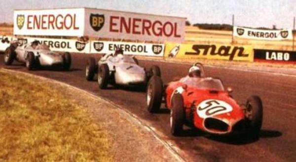 giancarlo baghetti ferrari at Tightest Race Finishes in F1 History