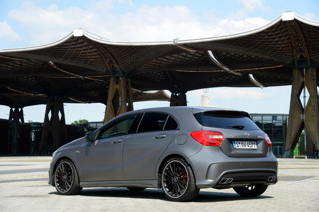 mercedes a45 amg pricing details uk. Black Bedroom Furniture Sets. Home Design Ideas