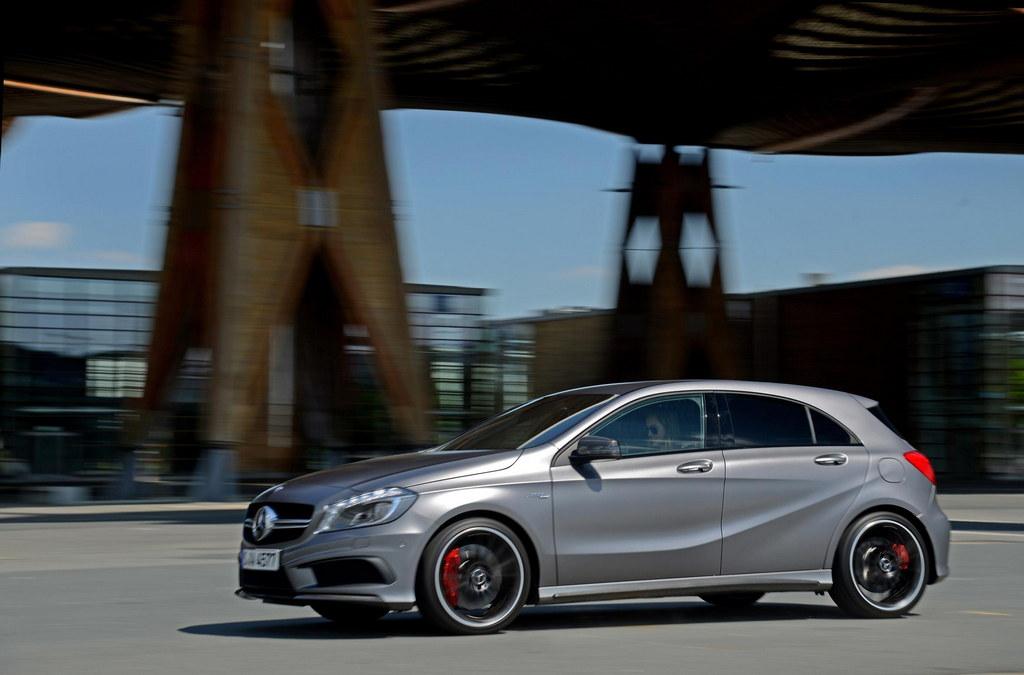 Mercedes A45 Amg Pricing Details Uk