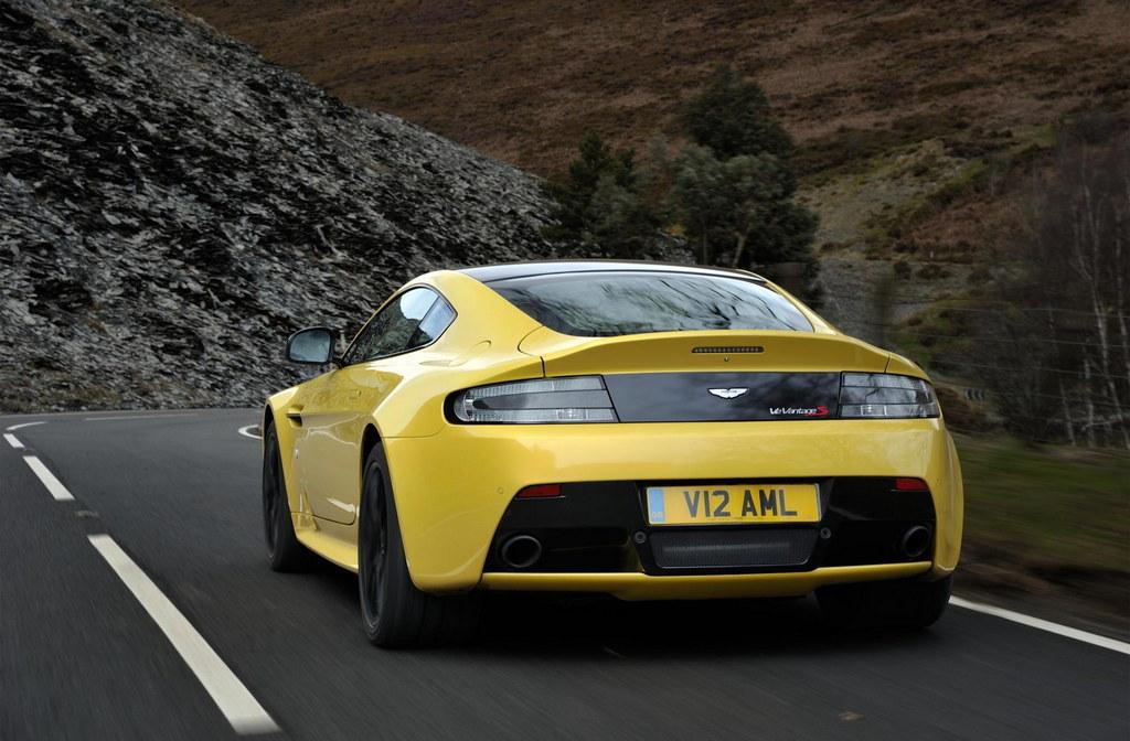 Aston Martin V Vantage S Pricing Announced - Aston martin v12 vantage s price