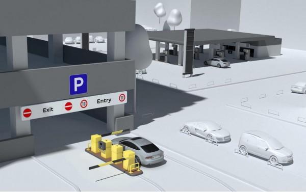 Audi wireless parking pilot 2 600x377 at Audi Testing Wireless Parking Payment Program